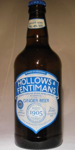 Hollows Superior Alcoholic Ginger Beer