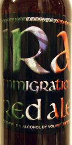 Immigration Red Ale (IRA)