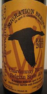 Chardonnay Barrel Belgian Ale (Fall Migration)