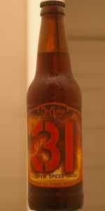 31 Pumpkin Spiced Lager