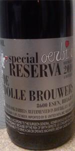 De Dolle Oerbier Special Reserva 2010 (Bottled 2011)
