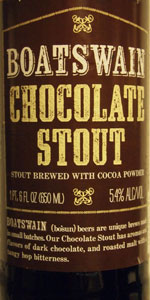 Boatswain Chocolate Stout