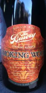Smoking Wood - Rye Barrel-Aged
