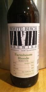 White Birch Farmhouse Blonde