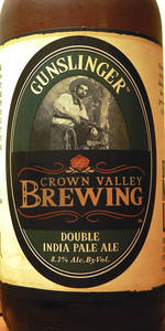 Gunslinger Double India Pale Ale
