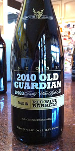 Old Guardian BELGO Barleywine - Red Wine Barrel Aged