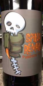 Spinal Remains Pumpkin Stout