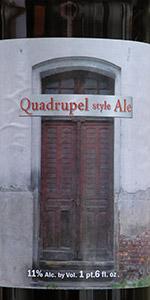 Quadrupel Style Ale