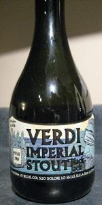 Verdi Imperial Stout Black Jack