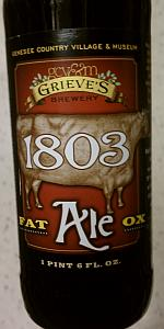 1803 Fat Ox Ale