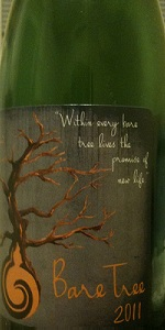 Bare Tree Weiss Wine Vintage 2011