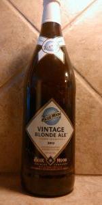 Blue Moon Vintage Blonde Ale