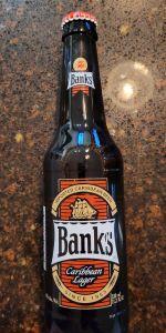 Banks Caribbean Lager