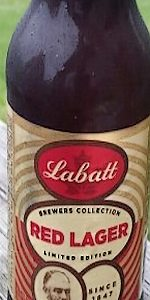 Labatt Brewers Collection Red Lager