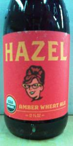 Hazel Amber Wheat Ale