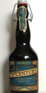 Nero's 1st Century Double Dark Malt Ale