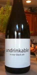 Undrinkable Ale