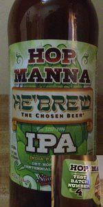 He'Brew Hop Manna Test Batch #4