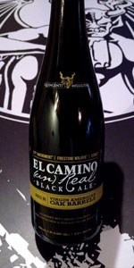 El Camino (Un)Real Black Ale - Virgin American Oak Barrel Aged