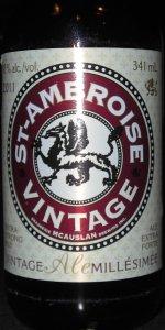 St.Ambroise Vintage Ale Millésimée 2011