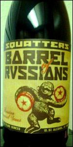 Squatters Barrel Of Russians