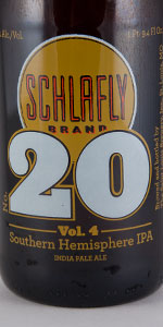 Schlafly #20, Volume 4: Southern Hemisphere IPA