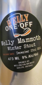 Welly Mammoth Winter Stout