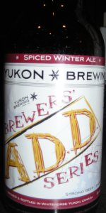 Yukon Spiced Winter Ale