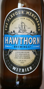 Hawthorn Brewing Co. Witbier