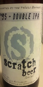 Scratch Beer 55 - 2011 (Double IPA)