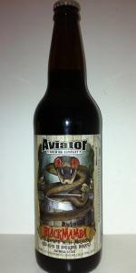 Bourbon Barrel Aged Black Mamba Stout