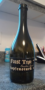 Faust Triple Bourbon Barrel