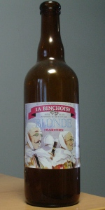 La Binchoise Blonde Tradition