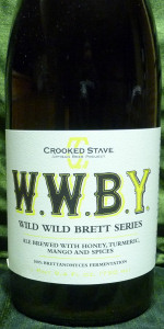 "Crooked Stave Wild Wild Brett ""Yellow"""