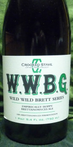 "Crooked Stave Wild Wild Brett ""Green"""