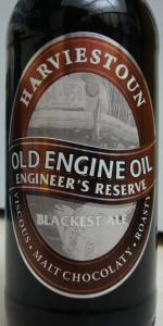 Old Engine Oil Engineer's Reserve Blackest Ale