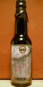 Sarsaparilla 666 Bourbon Barrel Root Beer Stout