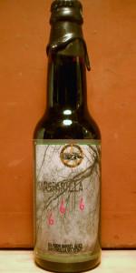 Sarsaparilla 666 Bourbon Barrel Root Beer Stout