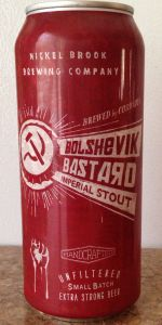 Nickel Brook Bolshevik Bastard Russian Imperial Stout