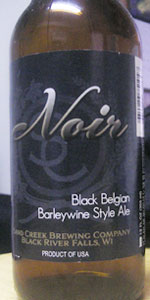 Noir Black Belgian Barleywine