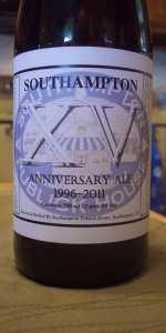 Southampton 15th Anniversary Ale