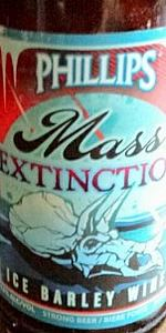 Mass Extinction Ice Barley Wine