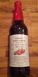 Steve's Back Yard Red Ale
