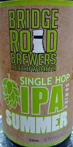 Summer Single Hop IPA