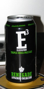 Elevation - E3 - Triple IPA