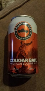 Cougar Bait American Blonde Ale