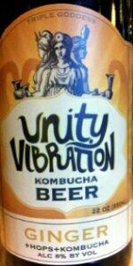 Triple-Goddess Ginger Kombucha Beer