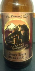 Crazy Train Black IPA