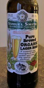 Pure Brewed Organic Lager Beer