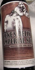 Zeke's Belly Up Imperial Stout (Evan Williams)